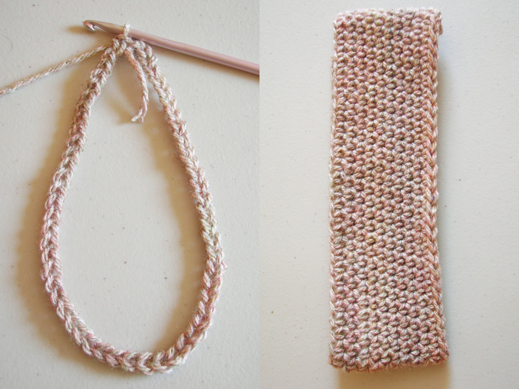 Crochet headband/ Diadema tejida