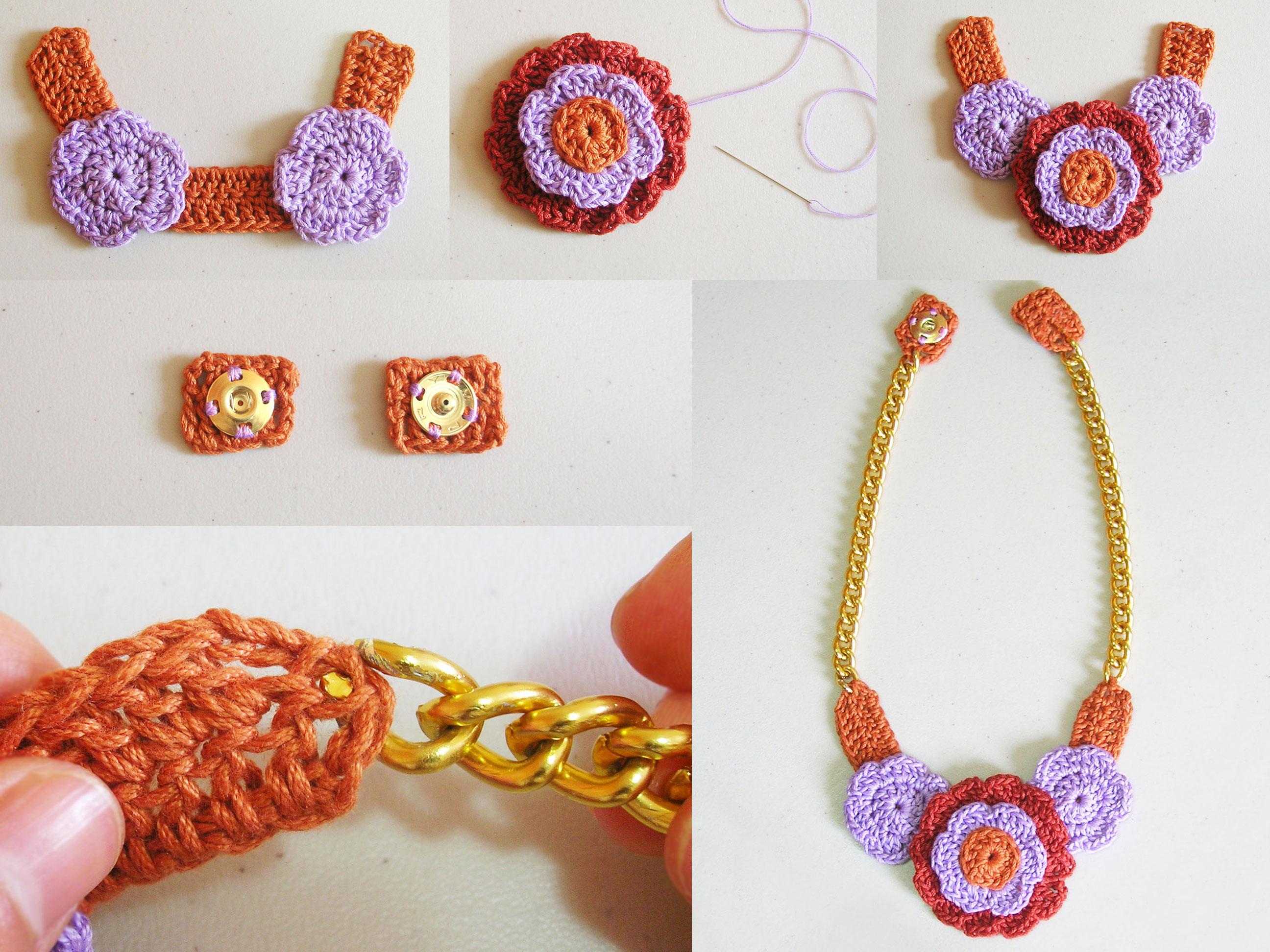 Diagramas De Collar En Crochet - DIY Enthusiasts Wiring Diagrams •