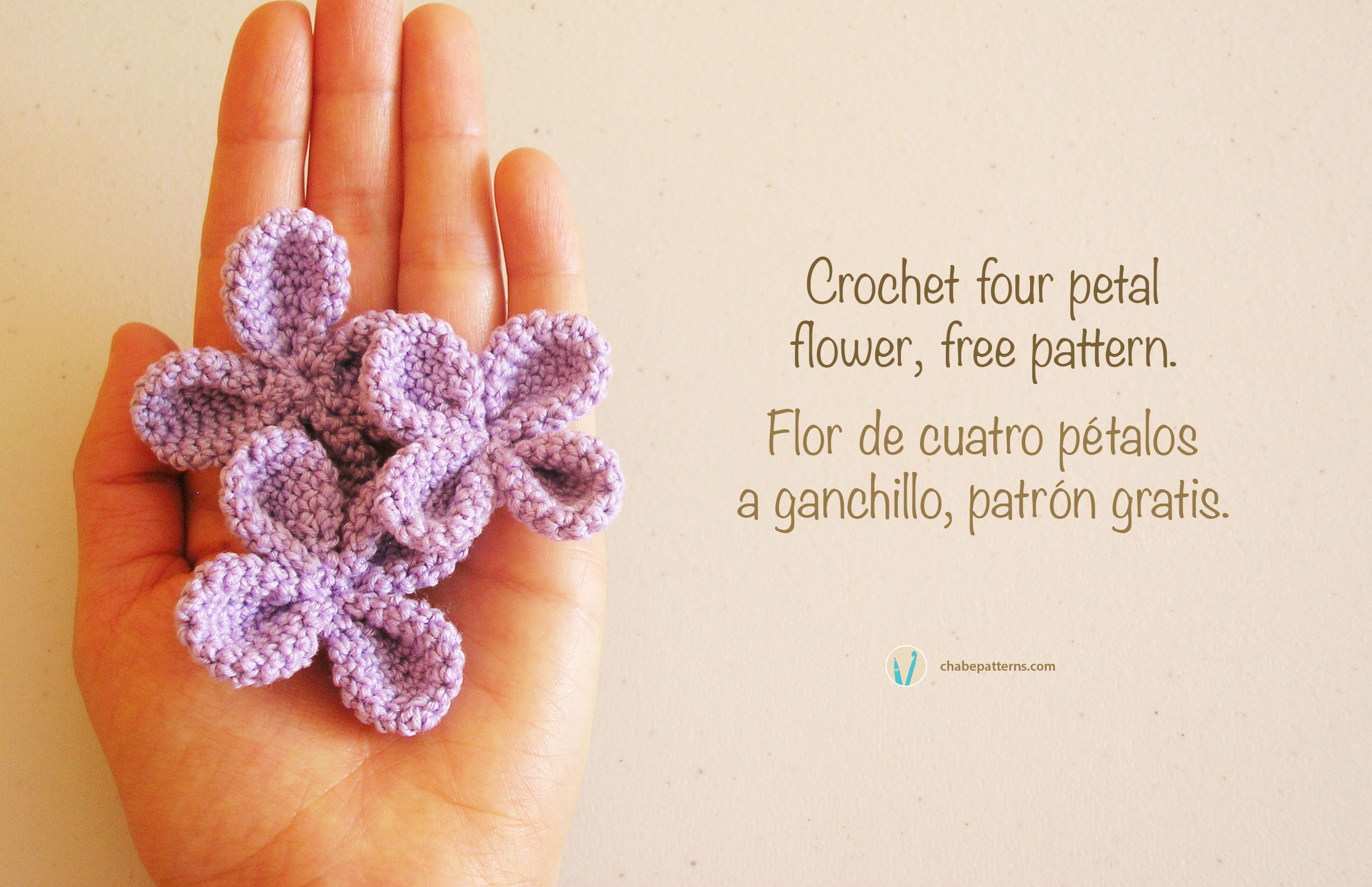 Flor de 4 petalos