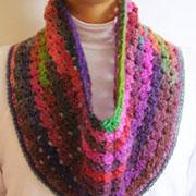 Mille colori cowl/ Cuello mille colori