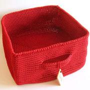 Storage basket/ Canasta tejida