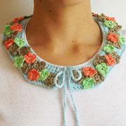 Flower collar/ Cuello de flores