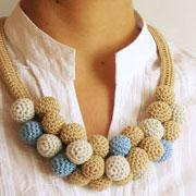Beads' necklace #3/ Collar de cuentas #3