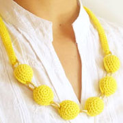 Beads' necklace #2/ Collar de cuentas #2