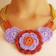Flower necklace #2/ Collar de flores #2