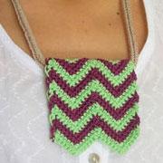 Zigzag necklace/ Collar zigzag