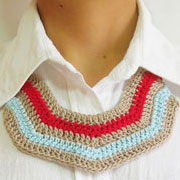 Striped necklace/ Collar rayas