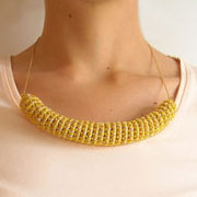 Tube necklace/ Collar tubo