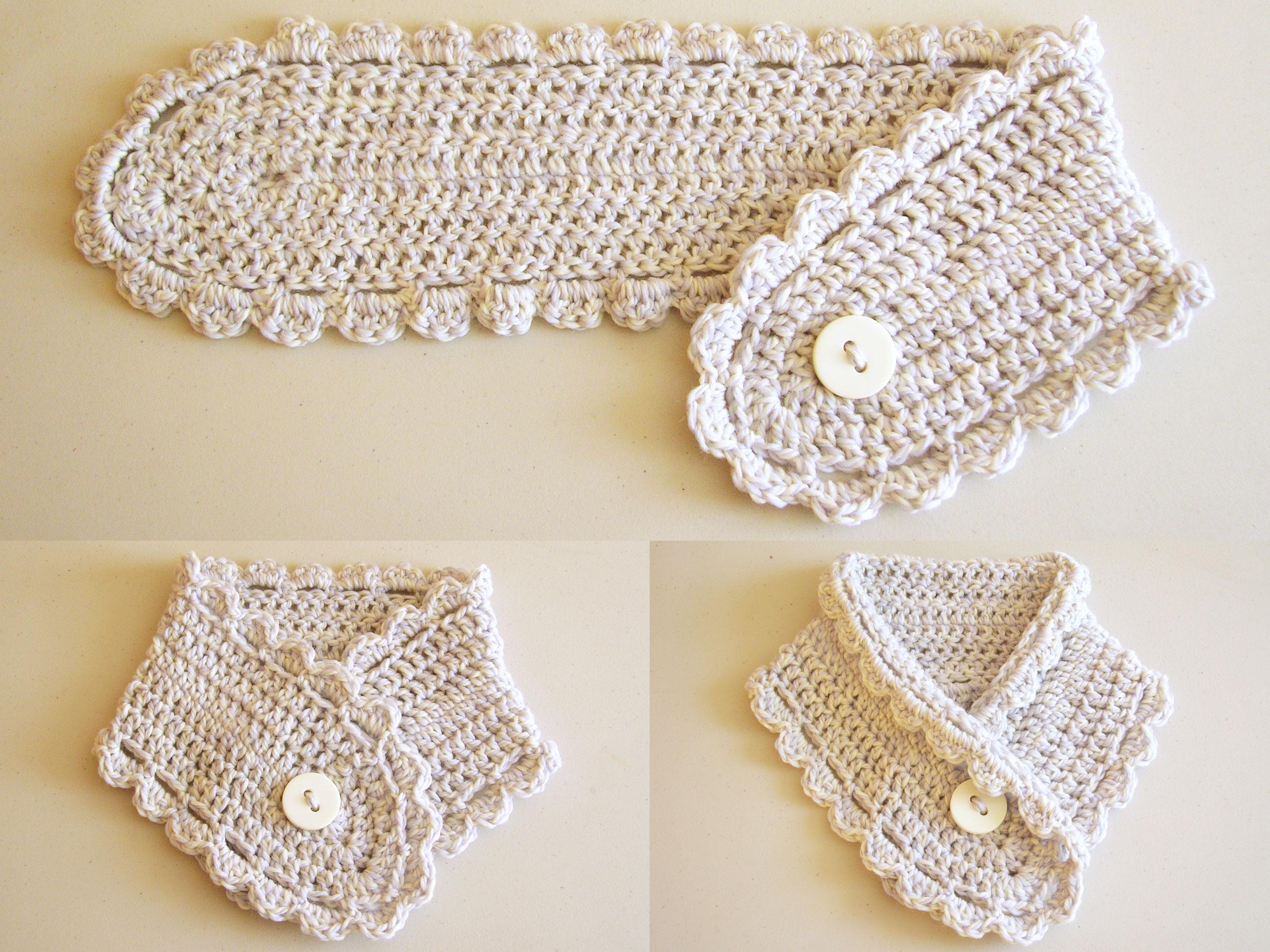 Short scarf