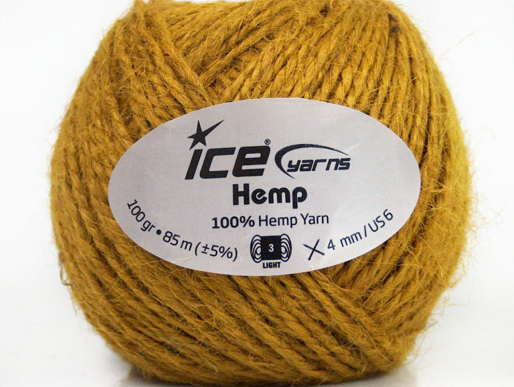 Ice yarns hemp yarn/ Estambre de hemp de Ice Yarns