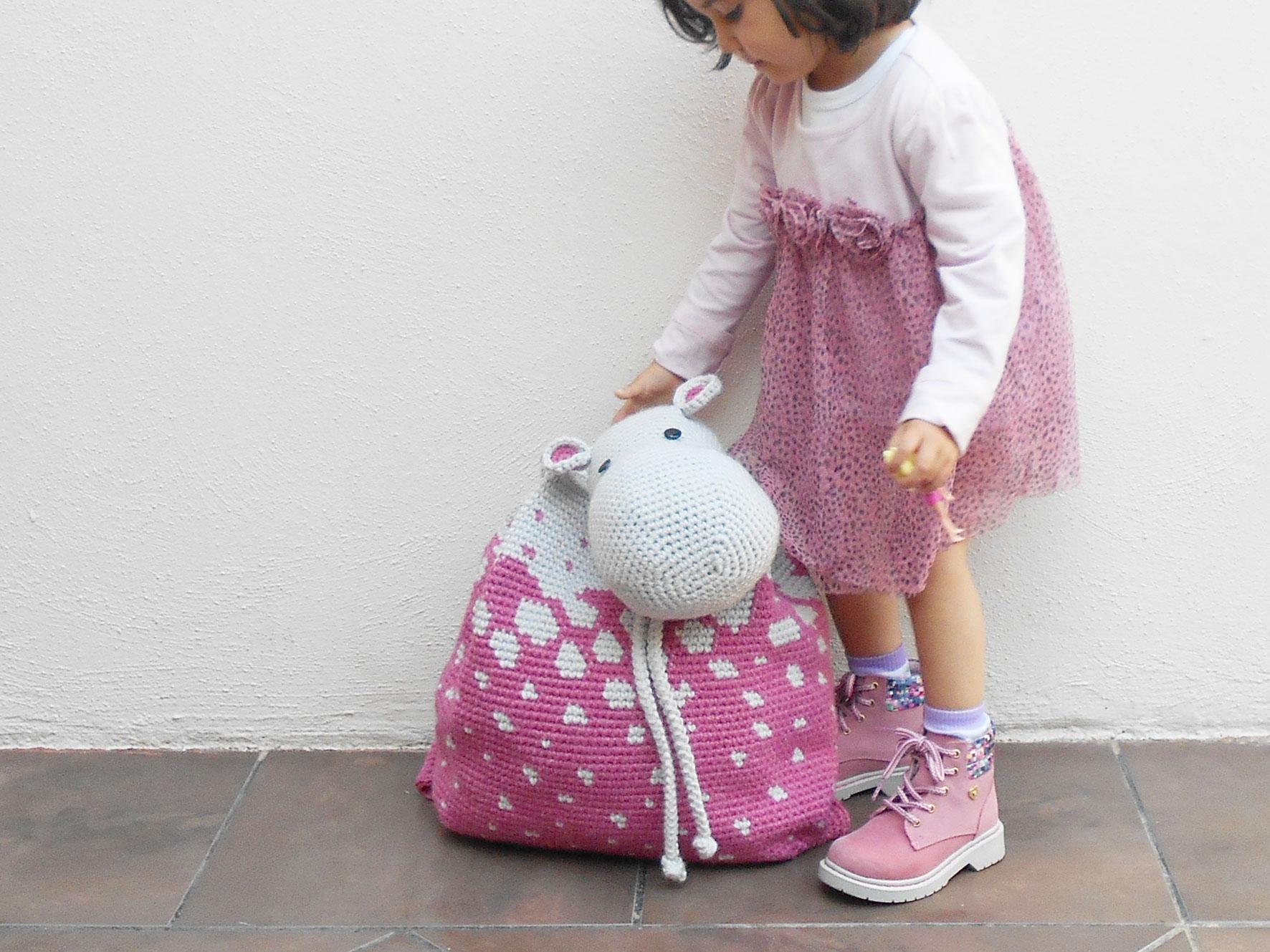 Crochet Bunny with Backpack Crochet Animal Rabbit Toy Bunny | Etsy | 1329x1772
